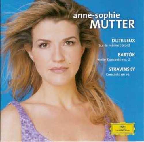 Anne-Sophie Mutter plays Dutilleux, Bartok, Stravinsky (APE)
