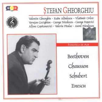 Gheorghiu: Beethoven, Chausson, Schubert, Enescu (2 CD, FLAC)