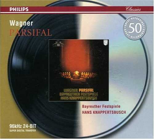 Knappertsbusch: Wagner – Parsifal, Bayreuth 1962 (4 CD, APE)