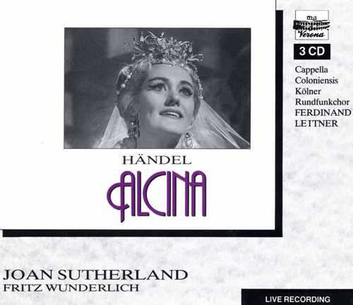 Wunderlich: Handel - Alcina (3 CD, APE)