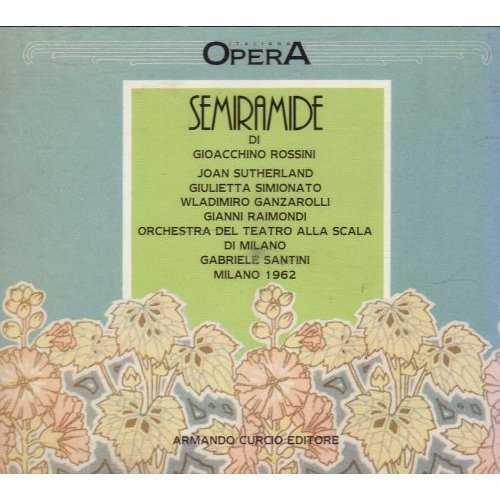Santini: Rossini - Semiramide (2 CD, APE)