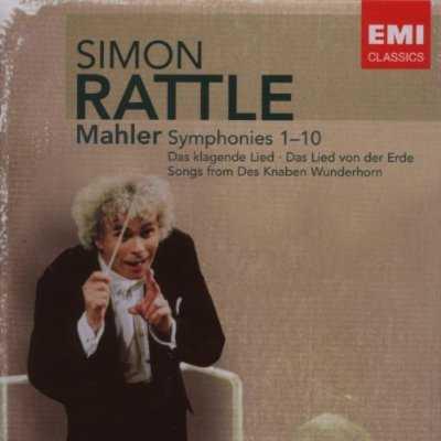 Rattle: Mahler - Symphonies 1-10 (14 CD box set, FLAC)