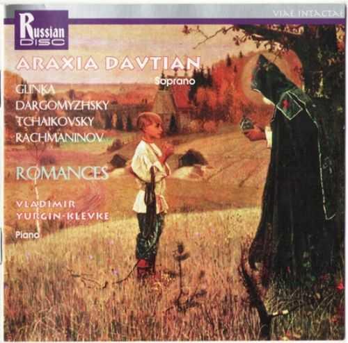 Araxia Davtian: Glinka, Dargomyzhsky, Tchaikovsky, Rachmaninov - Romances (FLAC)
