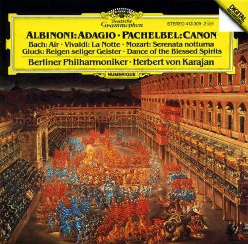 Karajan: Albinoni - Adagio, Pachelbel - Canon (APE)