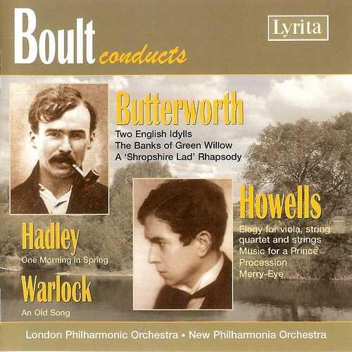 Boult Conducts Butterworth, Howells, Hadley, Warlock (FLAC)