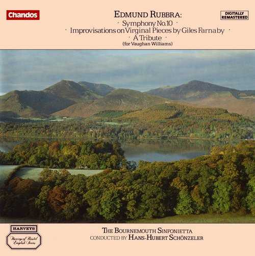 Rubbra - Symphony no.10, Improvisations on Virginal Pieces by Giles Farnaby, A Tribute (FLAC)