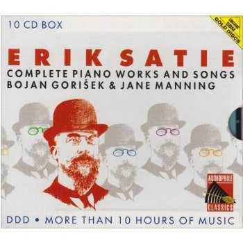Gorisek, Manning: Satie - Complete Piano Works and Songs (10 CD box set, FLAC)