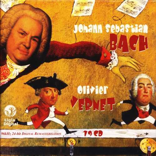 Vernet: Bach - Complete Organ Works (19 CD box set, FLAC)
