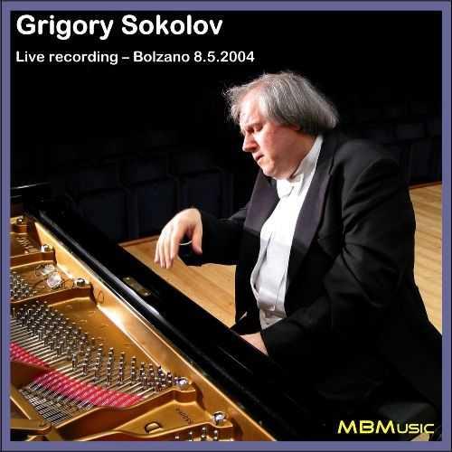 Grigory Sokolov - Live Recording, Bolzano 8.5.2004 (2 CD, APE)
