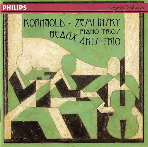 Beaux Arts Trio: Korngold - Trio in D op.1, Zemlinsky - Trio in D minor op.3 (APE)
