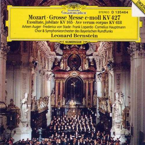 Bernstein: Mozart - Mass in C Minor K.427, Exultate, jubilate K.165, Ave Verum Corpus K.618 (FLAC)