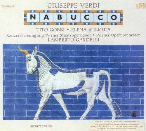 Gardelli, Gobbi, Suliotis: Verdi - Nabucco (2 CD, APE)
