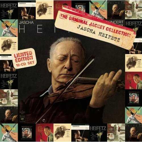 Jascha Heifetz: The Original Jacket Collection (10 CD box set, FLAC)
