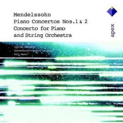 Masur, Katsaris: Mendelssohn - Piano Concertos no.1 & 2, Concerto for Piano and String Orchestra (APE)