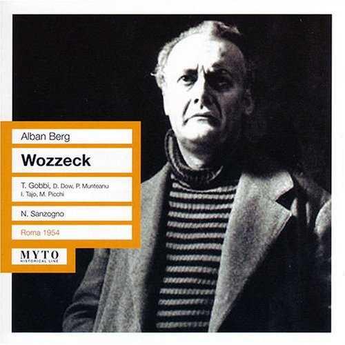 Sanzogno: Berg - Wozzeck (2 CD, FLAC)