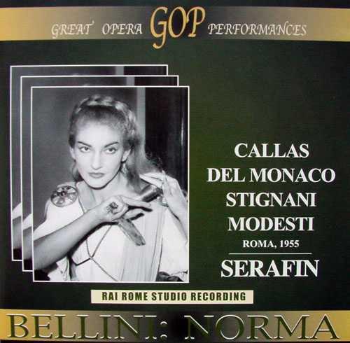 Serafin: Bellini - Norma, Roma 1955 (2 CD, APE)