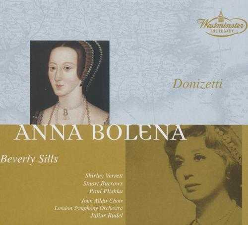 Rudel, Sills: Donizetti - Anna Bolena (3 CD box set, APE)