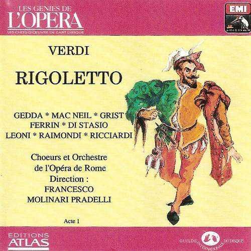 Molinari-Pradelli: Verdi - Rigoletto (2 CD, APE)