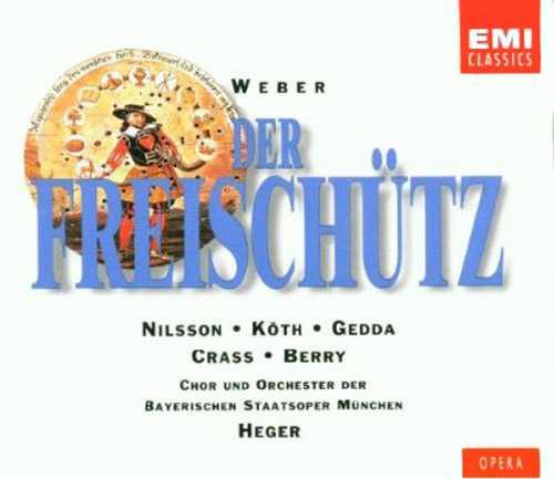 Heger: Weber - Der Freischutz (2 CD, FLAC)