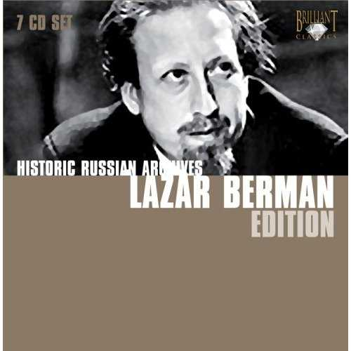 Lazar Berman Edition (7 CD box set, APE)