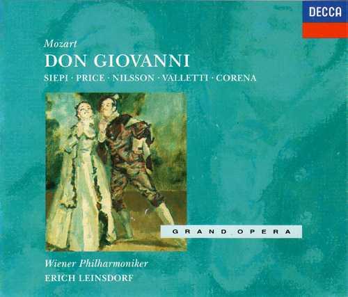 Leinsdorf: Mozart - Don Giovanni (3 CD, APE)