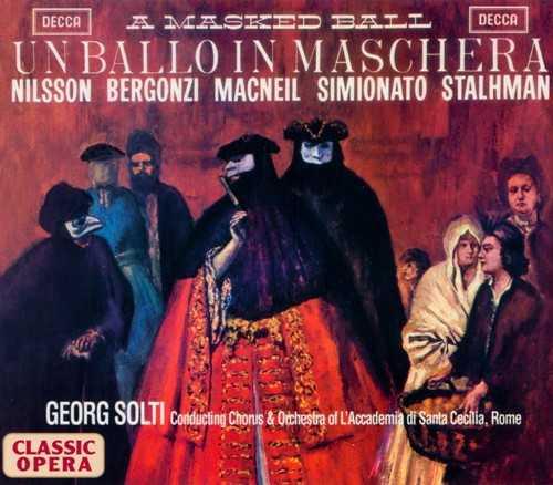 Solti: Verdi - Un Ballo in Maschera (2 CD, APE)