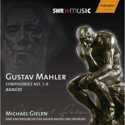 Gielen: Mahler - Symphonies no. 1-9, Adagio (13 CD box set, FLAC)