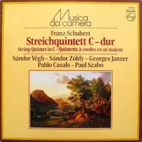 Vegh Quartet, Pablo Casals: Schubert - String Quintet (APE)