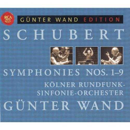Wand: Schubert - Symphonies no. 1-9 (5 CD box set, FLAC)