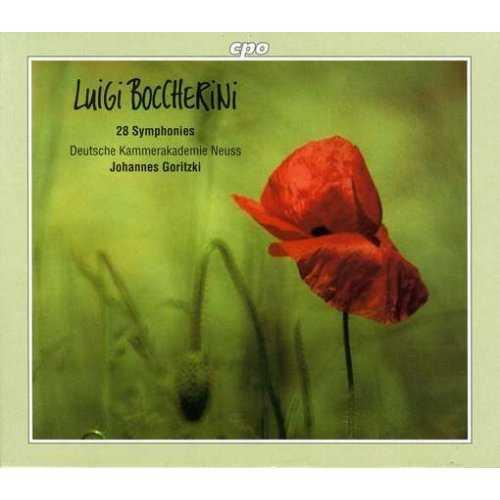 Goritzki: Boccherini - 28 Symphonies (8 CD box set, FLAC)