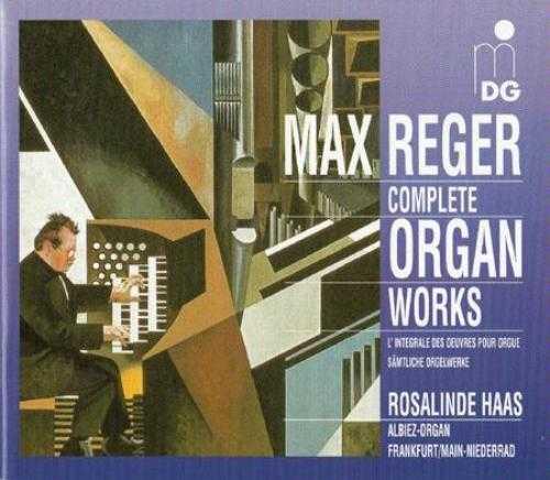 Haas: Reger - Complete Organ Works (12 CD box set, FLAC)