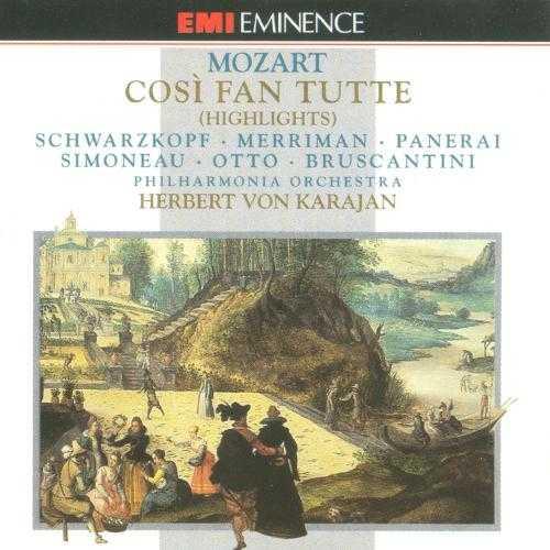 Karajan: Mozart - Così fan tutte. Highlights (FLAC)