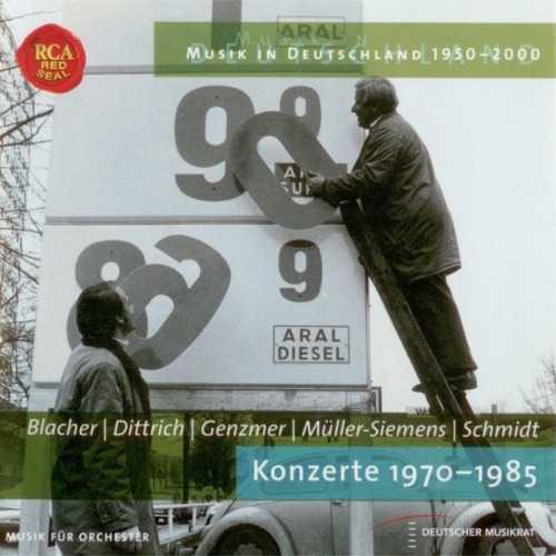 Blacher, Dittrich, Genzmer, Muller-Siemens, Schmidt: Konzerte 1970-1985 (APE)