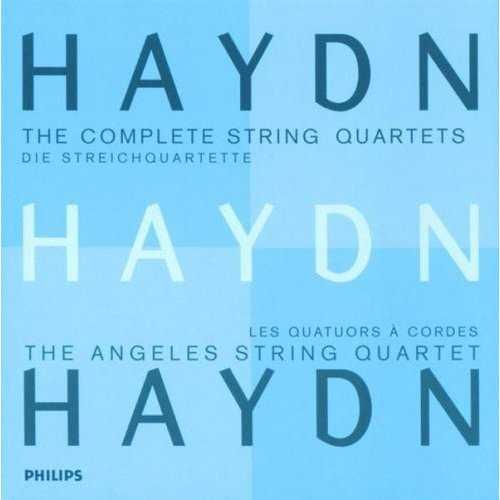 The Angeles String Quartet: Haydn - The Complete String Quartets (21 CD box set, FLAC)