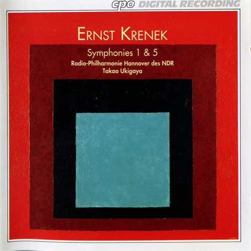 Ukigaya: Krenek - Symphonies no.1, 5 (FLAC)