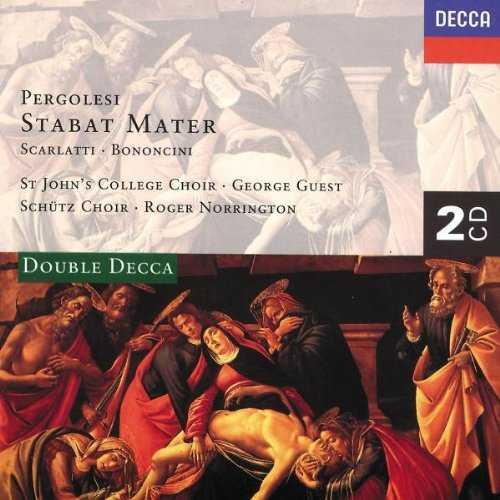 Guest, Norrington: Pergolesi - Stabat Mater, Scarlatti, Bononcini (2 CD, APE)
