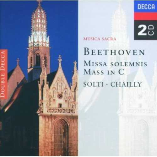 Solti, Chailly: Beethoven - Missa Solemnis, Mass in C (2 CD, APE)