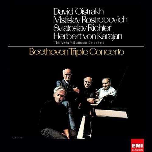 Karajan: Oistrakh, Rostropovich, Richter - Beethoven Triple Concerto (24bit/96kHz, FLAC)