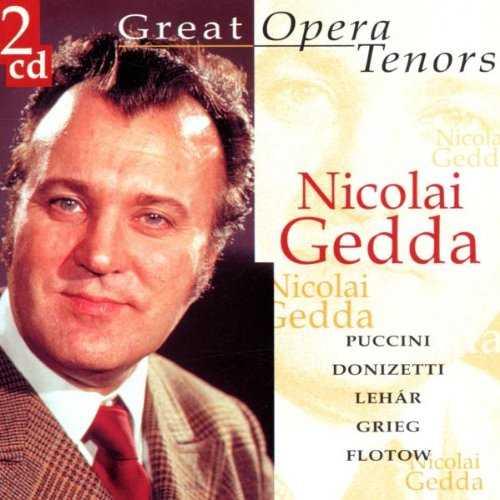 Great Opera Tenors: Nicolai Gedda (2 CD, WAV)