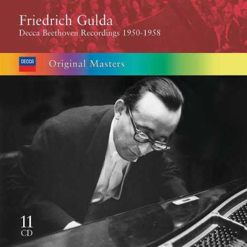Friedrich Gulda - Decca Beethoven Recordings 1950-1958 (11 CD box set, APE)