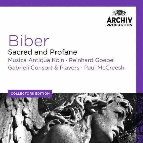 Biber - Sacred And Profane (7 CD box set, FLAC)