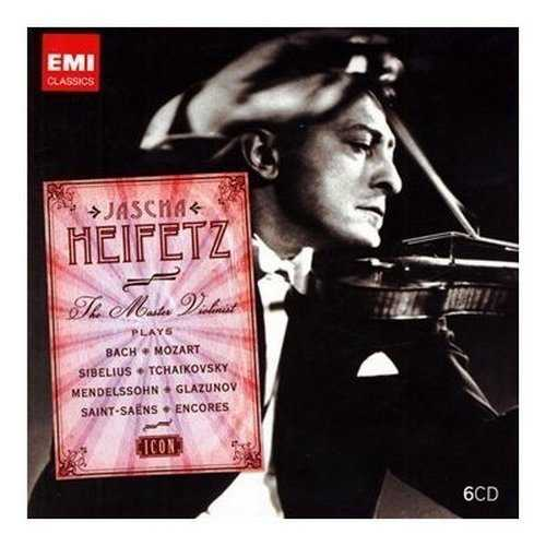 Jascha Heifetz - The Master Violinist (6 CD box set, APE)