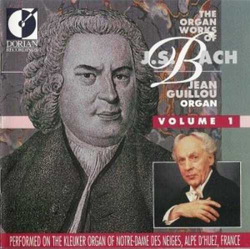 Jean Guillou - The organ works of J.S.Bach (5 CD series, FLAC)