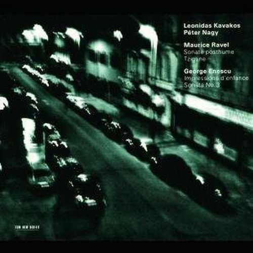 Ravel: Sonate posthume, Tzigane; Enescu: Impressions d'enfance, Sonata No. 3 (FLAC)