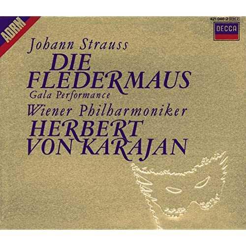 Karajan: Strauss - Die Fledermaus. Gala Performance (2 CD, APE)