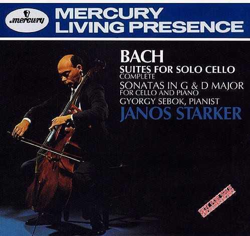 Bach - Complete Suites for Solo Cello; Sonatas in G major & D major for Cello & Piano (APE)