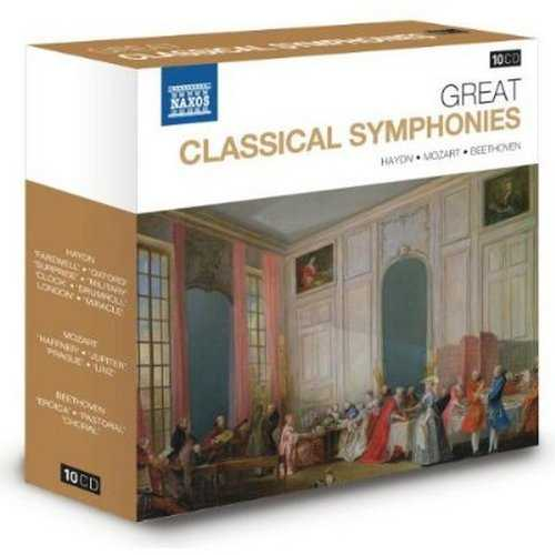 Naxos 25th Anniversary. Great Classical Symphonies (10 CD box set FLAC)