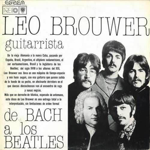 Leo Brouwer – De Bach A Los Beatles (24/96 FLAC)