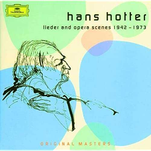 Hans Hotter: Lieder and Opera Scenes 1942-1973 (3 CD box set FLAC)