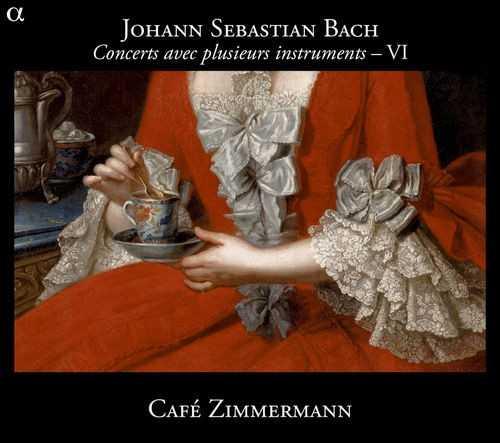 Cafe Zimmermann: Bach - Concerts avec plusieurs instruments vol.6 (24/88 FLAC)